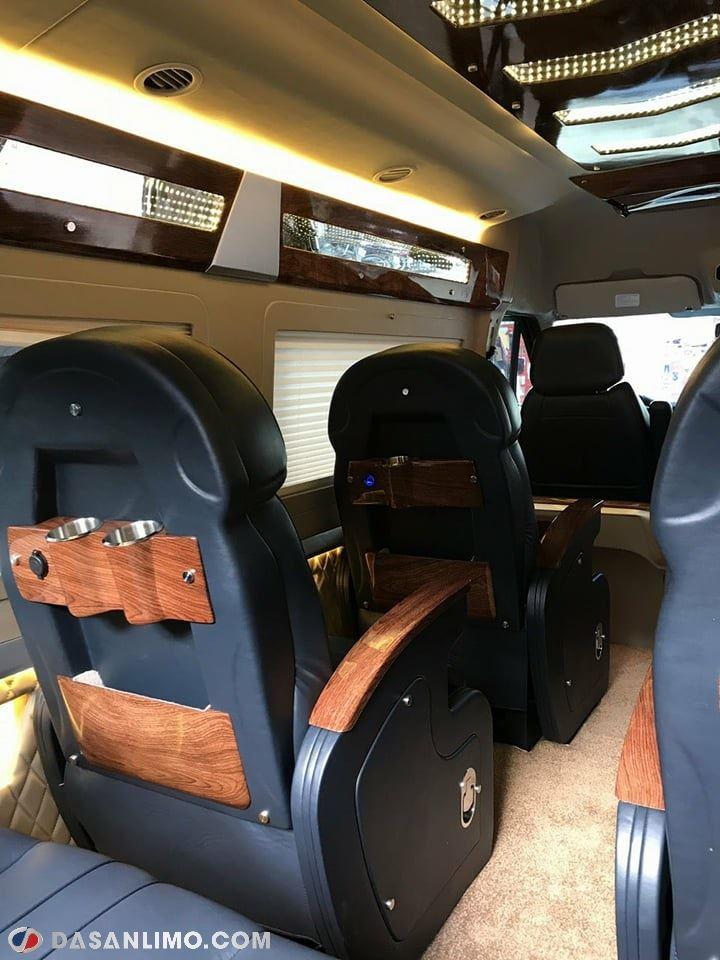 Nội thất Ford Dasan VIP màu đen