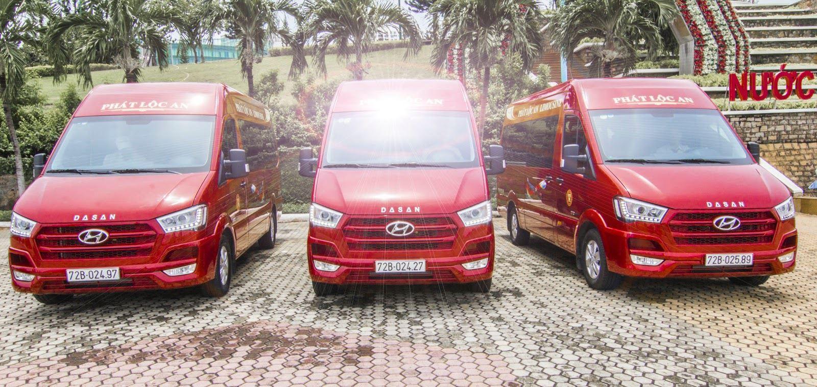 Phát Lộc An đầu tư thêm dòng xe Dasan Solati Limousine với ghế ngồi massage phục vụ hành khách