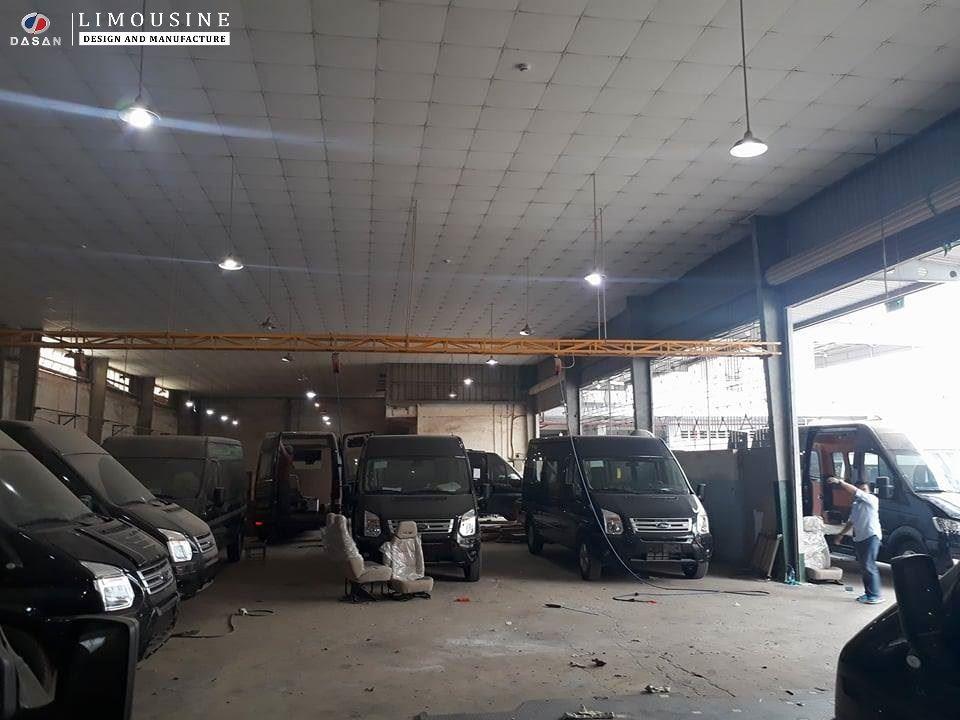 Nhà máy sản xuất xe limousine của Hãng ô tô Dasan