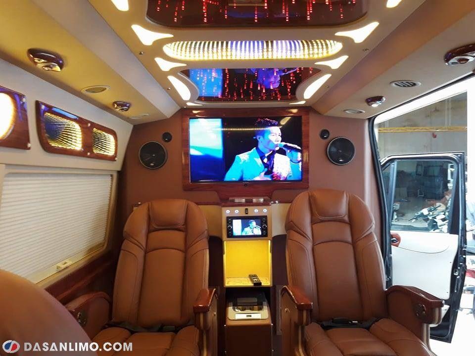 Nội thất dòng limousine cao cấp Dasan CT270S