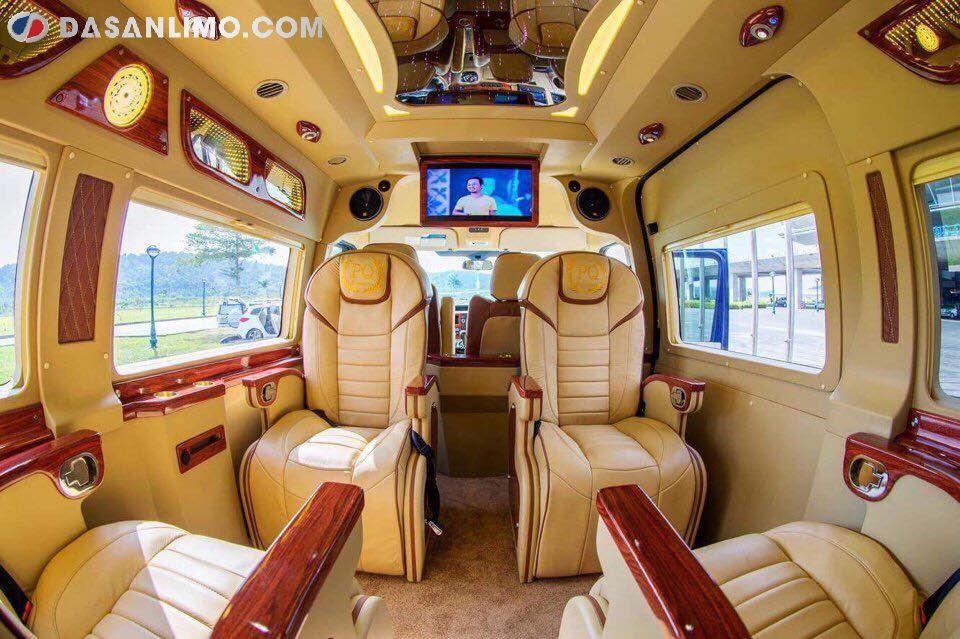 Nội thất dòng xe Limousine thứ cấp Skybus GVL
