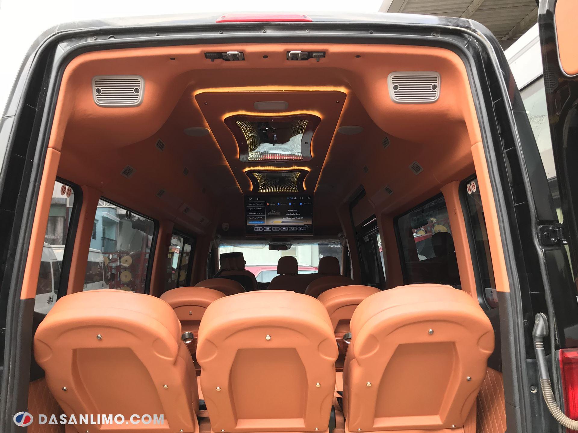 Dòng xe Limousine Skybus SVL sở hữu nội thất thoáng rộng vượt trội