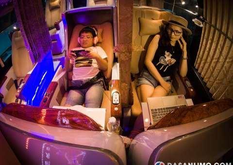 skybus gold - limousine 21 ghế nằm