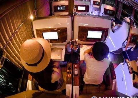 skybus gold - xe limousine 21 ghế nằm