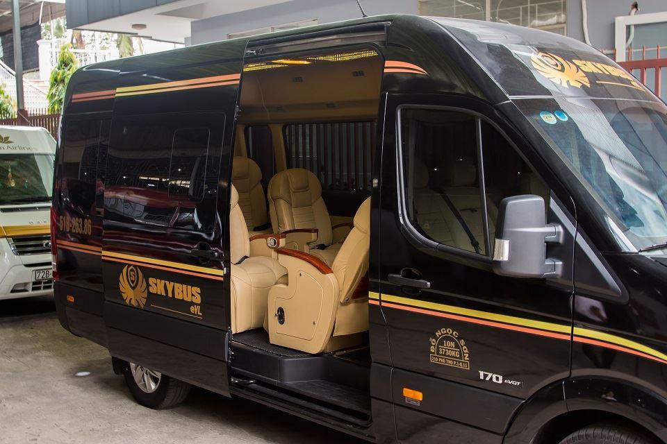 Xe SKybus SVL có nội thất rộng vượt trội