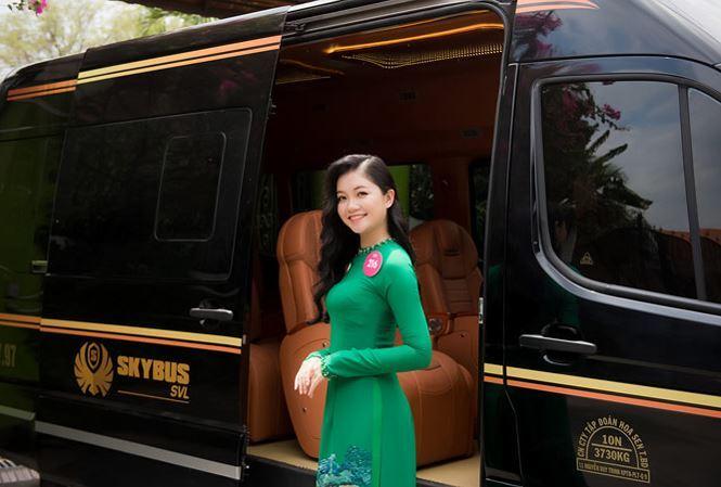 Dasan skybus tài trợ hoa hậu việt nam 2018