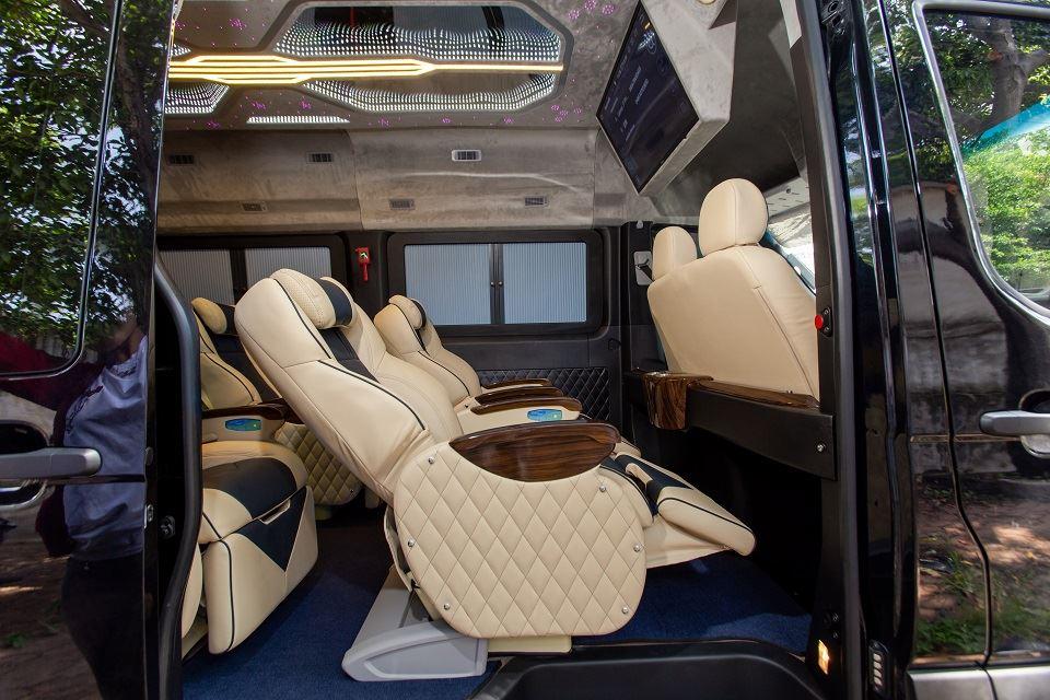 Skybus Speial - Solati Limousine 10 chỗ thương mại 2019