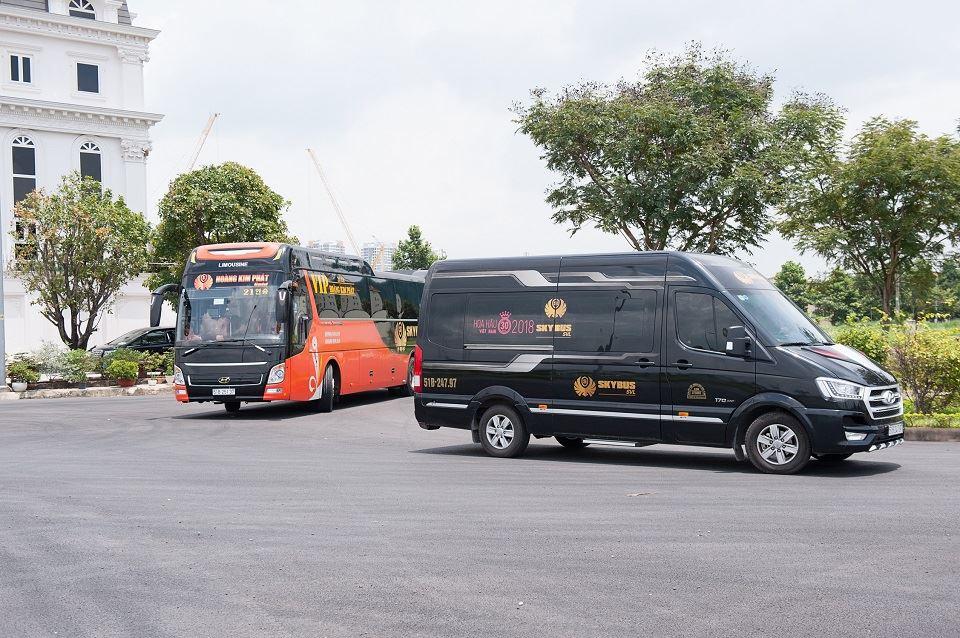 Các dòng xe Limousine SKYBUS của DASAN