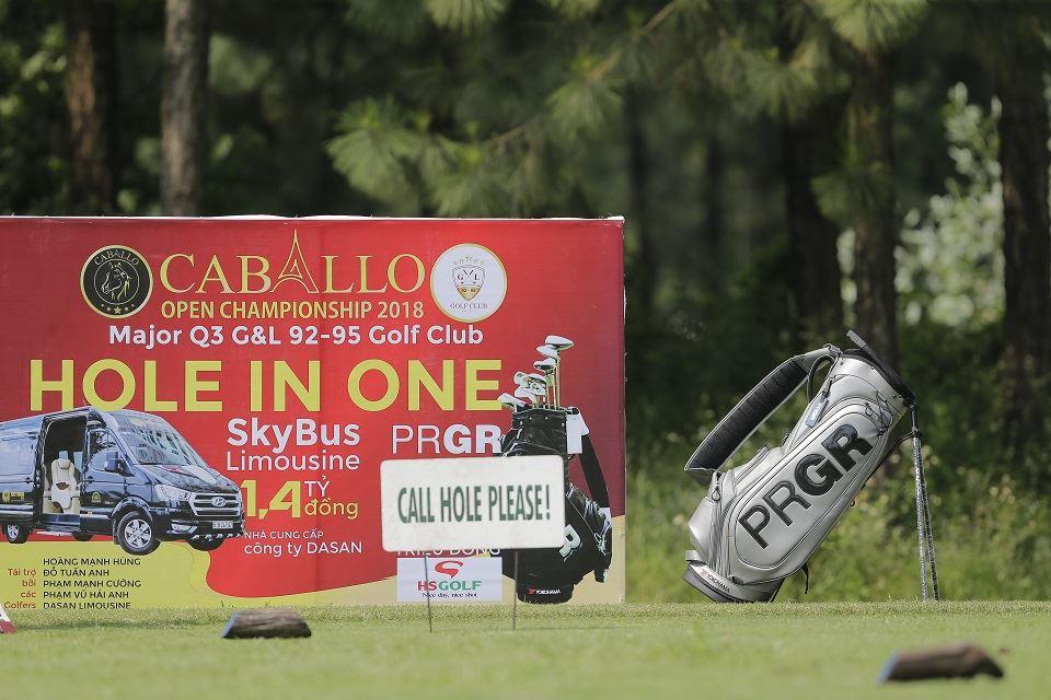 DASAN SKYBUS tài trợ HIO giải Caballo Open Championship 2018