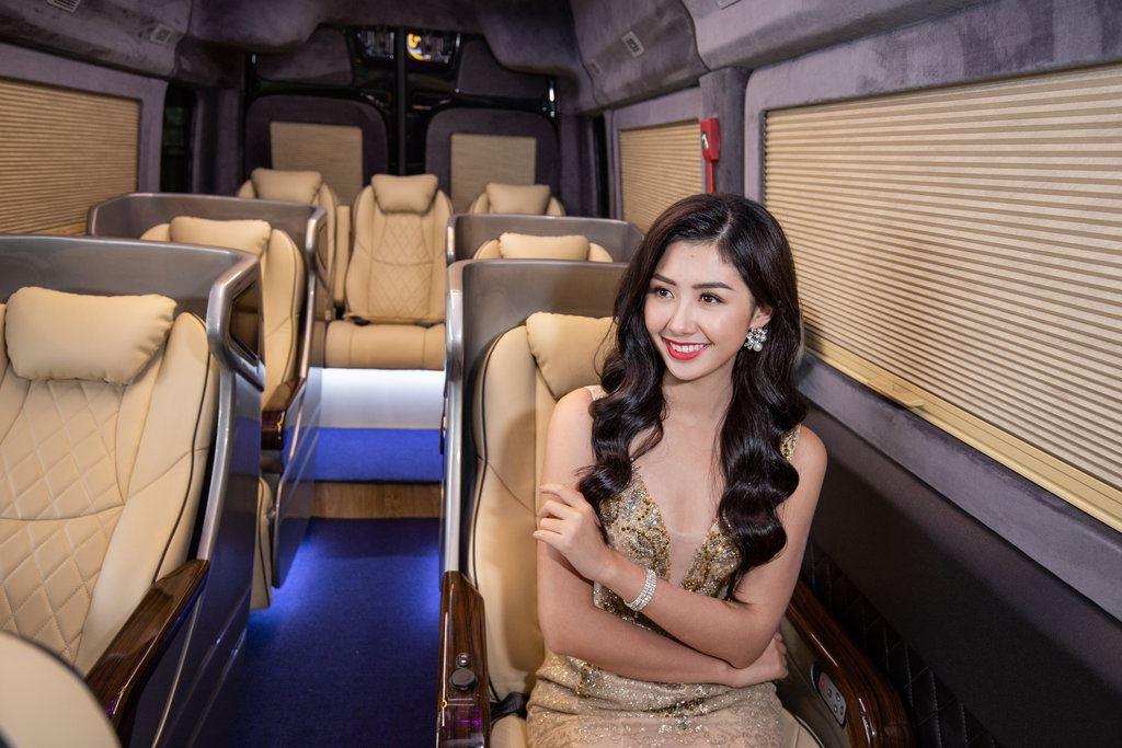 Đại sứ thương hiệu Dasan SKYBUS Phạm Ngọc Linh