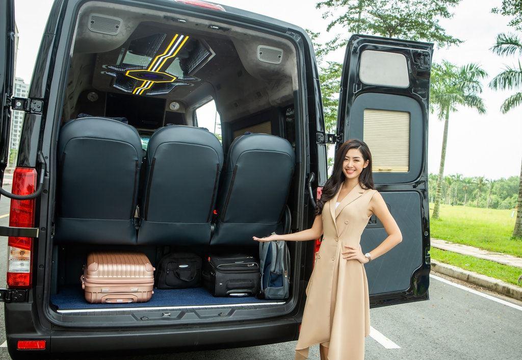 Cốp hành lý của Solati XLL 12 chỗ