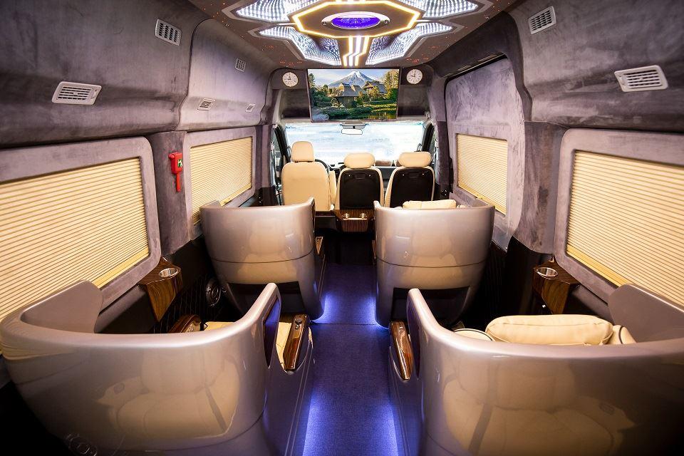 SKYBUS Limousine ghế điện XLE