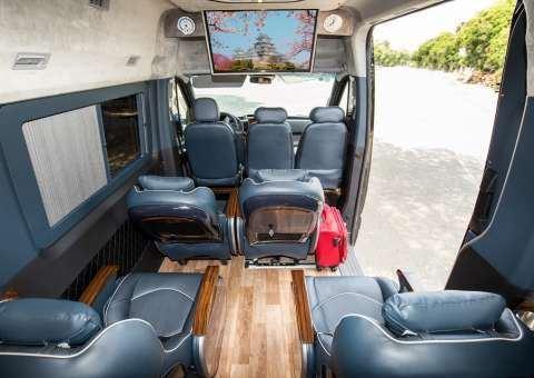 Solati Limousine 12 chỗ SKYBUS Solati PRO 7