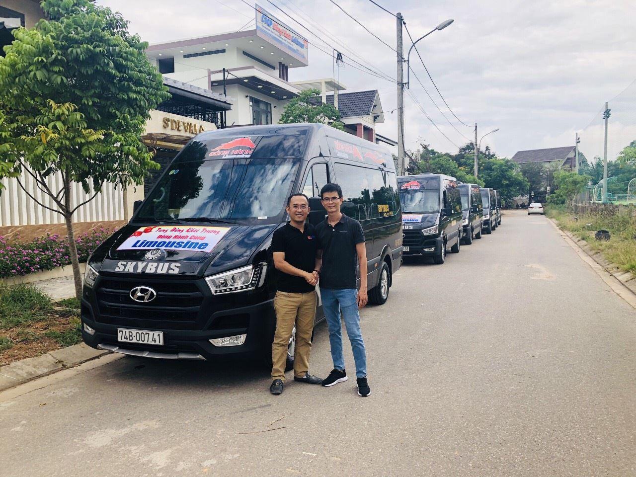 Solati Limousine SKYBUS BOLD tại Đà Nẵng