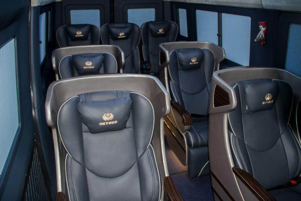 Skybus Solati Bold - Solati limousine dành cho nhà xe tuyến hàng đầu