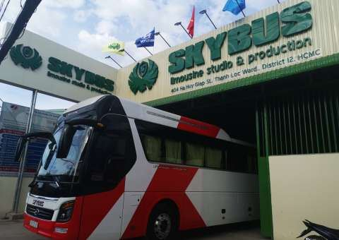 Skybus Gold 28 ghế nằm